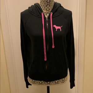 Jackets & Coats - Faded Black Zip up sweater